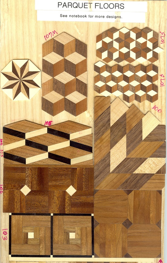 Parquet Floor Kits Tom Walden S Miniature Furniture